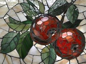 Мастер-класс по мозаике из стекла. Декор деревянного подноса. | Ярмарка Мастеров - ручная работа, handmade