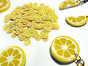 Мастер-класс по полимерной глине — цитрусы | Ярмарка Мастеров - ручная работа, handmade