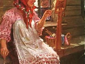 Как в старину пряжу изготавливали. Ярмарка Мастеров - ручная работа, handmade.