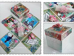 Мастер-класс: коробочка Magic Boх. Ярмарка Мастеров - ручная работа, handmade.