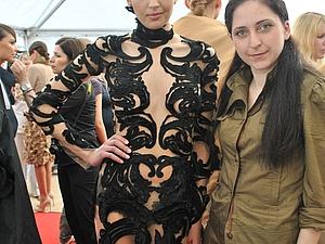 Как использовать аппликацию при пошиве кутюрного платья (1 часть) | Ярмарка Мастеров - ручная работа, handmade