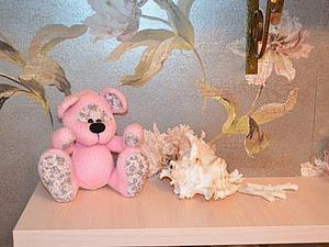 Здесь дают розовеньких медведей!:) | Ярмарка Мастеров - ручная работа, handmade