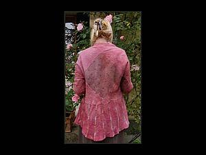 Жакет в технике нуно фельт от Май Хвистендал   Ярмарка Мастеров - ручная работа, handmade