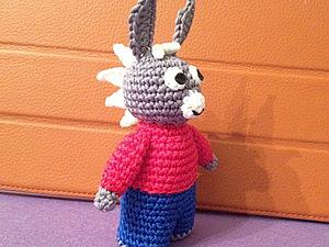 Мастер-класс вязанный крючком ослик или лошадка. Ярмарка Мастеров - ручная работа, handmade.
