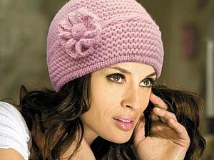 выбор модной вязаной шапки ярмарка мастеров