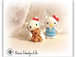 Мастер-класс: Hello Kitty из полимерной глины. Ярмарка Мастеров - ручная работа, handmade.