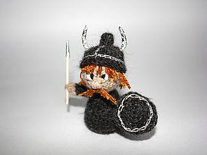 Вяжем симпатичного викинга | Ярмарка Мастеров - ручная работа, handmade