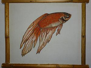 Имитация японской гравюры: делаем собственную экорамку для рисунка. Ярмарка Мастеров - ручная работа, handmade.