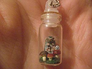 Изготавливаем миниатюрную подвеску «Властелин грибов». Ярмарка Мастеров - ручная работа, handmade.