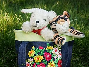 Детская сумочка Двойняшка-2 | Ярмарка Мастеров - ручная работа, handmade
