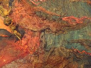 Вдохновение или рисуем шелком.. Ярмарка Мастеров - ручная работа, handmade.