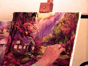 Быстрое рисование - картина за 3 часа | Ярмарка Мастеров - ручная работа, handmade