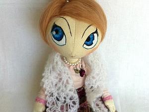 Шьем платье для куклы-тыквоголовки. Ярмарка Мастеров - ручная работа, handmade.
