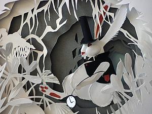 Белый Кролик   Ярмарка Мастеров - ручная работа, handmade