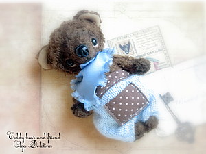 Аукцион Мишка тедди Choco | Ярмарка Мастеров - ручная работа, handmade