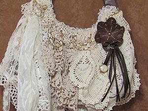 Фантазии на тему шебби-шика, воплощенные в дамских сумочках | Ярмарка Мастеров - ручная работа, handmade