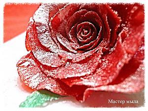 Роза в снегу. | Ярмарка Мастеров - ручная работа, handmade