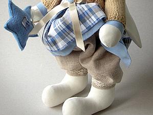 Как сшить зайку. Часть 2. Как пошить штанишки? | Ярмарка Мастеров - ручная работа, handmade