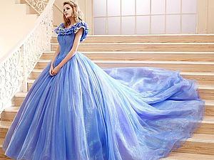 Платья всех оттенков голубого...   Ярмарка Мастеров - ручная работа, handmade