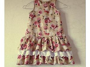Платье для дочки | Ярмарка Мастеров - ручная работа, handmade