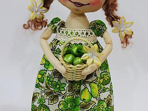 сладенькая яблочная конфетка | Ярмарка Мастеров - ручная работа, handmade