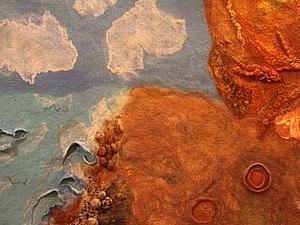 Отчет о мастер-классе по декоративным элементам и фактурам в валянии | Ярмарка Мастеров - ручная работа, handmade
