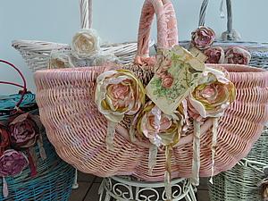 Моя французская коллекция корзин - Парижанка! | Ярмарка Мастеров - ручная работа, handmade