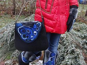 Новый комплект -войлок и фриформ-МИРАБЕЛЛА   Ярмарка Мастеров - ручная работа, handmade