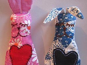 Скидка 50%  на зайца-сплюшку! | Ярмарка Мастеров - ручная работа, handmade