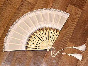 Делаем сами веер. Ярмарка Мастеров - ручная работа, handmade.