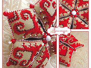 Мастер-класс: делаем оригинальную текстильную звезду на Новый год. Ярмарка Мастеров - ручная работа, handmade.