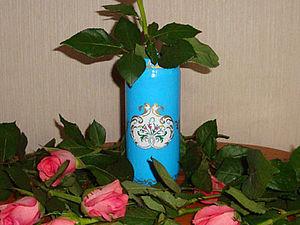 Как обычная банка стала вазой. Ярмарка Мастеров - ручная работа, handmade.