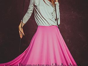 Платье в пол свободного кроя в наличии!!! | Ярмарка Мастеров - ручная работа, handmade