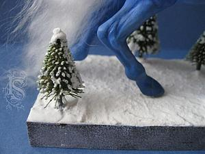 Создаем имитацию снега и инея. Ярмарка Мастеров - ручная работа, handmade.