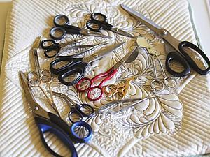 Ножницы для шитья, рукоделия и вышивки. Уход и обслуживание | Ярмарка Мастеров - ручная работа, handmade