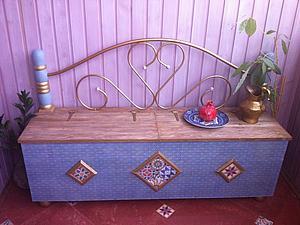 Декорирование сундука в восточном стиле. Ярмарка Мастеров - ручная работа, handmade.