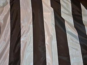 Как сделать полосатую ткань способом гильоширования. Ярмарка Мастеров - ручная работа, handmade.