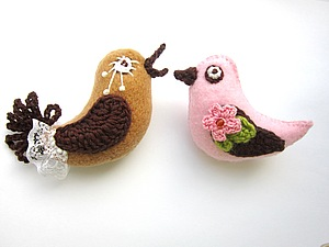 Мк Птички. Ярмарка Мастеров - ручная работа, handmade.