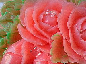 Вырезание розы по мылу. Ярмарка Мастеров - ручная работа, handmade.