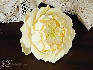 Новинка нашей студии! Цветы из фоамирана: Английская роза! | Ярмарка Мастеров - ручная работа, handmade