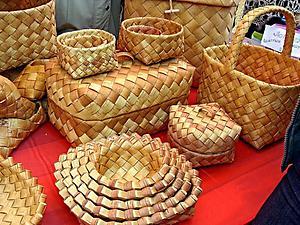 Откуда корзина? Из лесу, вестимо! или Плетение из бересты. Ярмарка Мастеров - ручная работа, handmade.