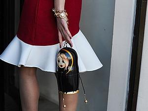 Форс мороза не боится, или Стритстайл подвиги гостей недель моды в Москве | Ярмарка Мастеров - ручная работа, handmade