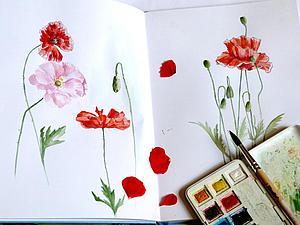 Летние цветы. Ярмарка Мастеров - ручная работа, handmade.