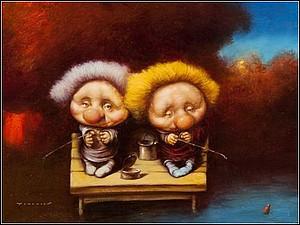 Микрореализм от Дмитрия Яковина и его милейшие человечки | Ярмарка Мастеров - ручная работа, handmade