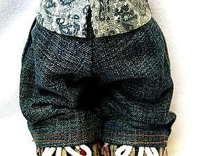 Создание выкройки брюк  и их пошив .Индивидуально для каждой игрушки по её размеру | Ярмарка Мастеров - ручная работа, handmade