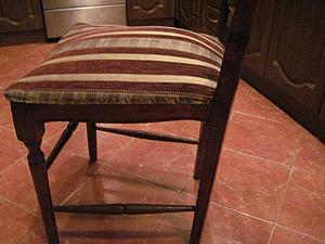 Ремонт и усиление стула. Часть 2: ремонт проножки и другие подготовительные работы перед склеиванием. Ярмарка Мастеров - ручная работа, handmade.