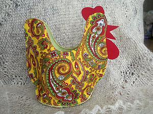 Пасхальная курочка-корзинка для яиц | Ярмарка Мастеров - ручная работа, handmade
