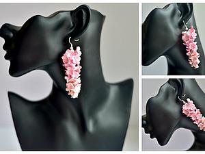 Лепим гроздь цветов из полимерной глины. Ярмарка Мастеров - ручная работа, handmade.