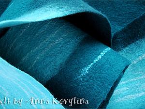 Мк по валянию - Войлок. Техники И Приёмы Раскладки. | Ярмарка Мастеров - ручная работа, handmade