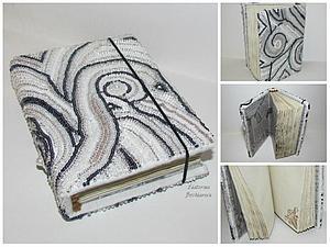 Блокнот-малыш, расшитый бисером | Ярмарка Мастеров - ручная работа, handmade